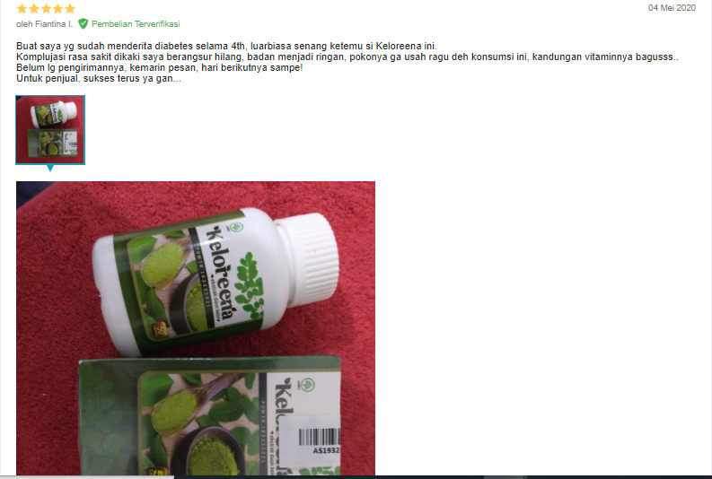 testi kelor diabetes menahun